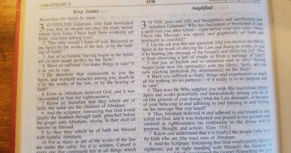 Foolish definition bible study